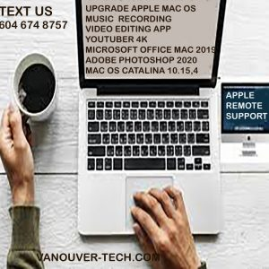 remote apple support mac os
