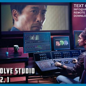 Davinci Resolve Studio 16.2.1 (Last Update ) ✔️ Full Version For Windows 🔥 There is no physical shipping by post/courier (NO CD/DVD will be sent by post/courier) PS: **PLEASE NOTE BEFORE MAKING A PURCHASE: THIS IS A DIGITAL PURCHASE. A DOWNLOAD LINK WILL BE SENT TO YOU (WITHIN 15min-12 HOURS) WHICH WILL INCLUDE THE CONTENTS OF YOUR PURCHASE** You will receive a link for the file and instructions for installing the software on your inbox. DaVinci Resolve 16.2.1 Now Supports RED's GPU Acceleration via Metal DaVinci Resolve Studio 2019 v16 Technical Setup Details Software Full Name: DaVinci Resolve Studio 2019 v16 Full Setup Size: 1.9 GB Setup Type: Offline Installer / Full Standalone Setup Compatibility Architecture: 64 Bit (x64) Developers: DaVinci Resolve Studio
