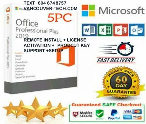 Microsoft Office 365 2019 Pro Professional Plus Download and Key 32/64 Bit 5 PC ACTIVATION PRODUCT KEYOffice 2019 Pro Plus Instant Download License key Office 2019 Professional Plus✔ Ms Office 2019 Pro Plus 🔥 License key Lifetime 🔥 32/64 bits 🔥 Windows Office 2019 Pro Plus 32/64 Bit Dowload License Office 2019 Features: