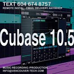 Steinberg Cubase ARTIST 10.5 Recording and Production Software MACOS