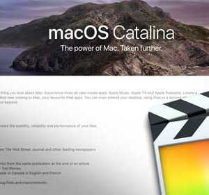 FCPX 10.4.8 and macOS Catalina 10.15.4. ... compatibility with Apple  video editor 4k transition build  for imac , MacBook Pro Final Cut Pro 10 new version compatible with new mac OS 10.15 catalina  We have old version for all macOS older macbook 10.11 el captain macOS Download + Digital delivery to your email address link to download