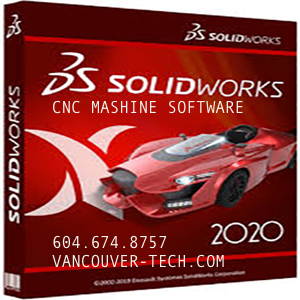 SOLIDWORKS solution provider for mechanical ENGINEER 3D Design, VANCOUVER BC Manufacturing CAD SOLUTION Technology CNC MACHINE SOFTWARE UPGRADE 2D 3D PRINTER
