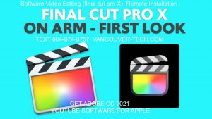 Apple updates mac os x big sur and video Editing for youtube Best Software 2020 Final Cut Pro x on big sur remote installation tech apple store