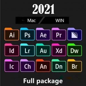 Adobe creative cloude master collection 2021 Mac Windows