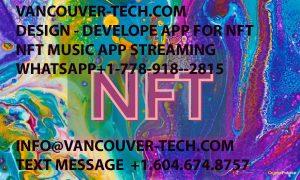 nft music photo app blockchain digital sell buy platform trade