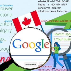 Vancouver SEO marketing best services canada free